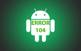 How to solve Error 104 in Google Play Store?