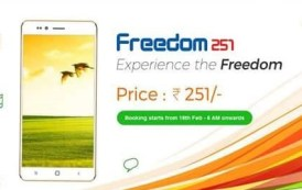 Worlds cheapest smartphone Freedom 251 deliveries on June 30