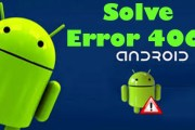 How to solve Google Play store Error 406