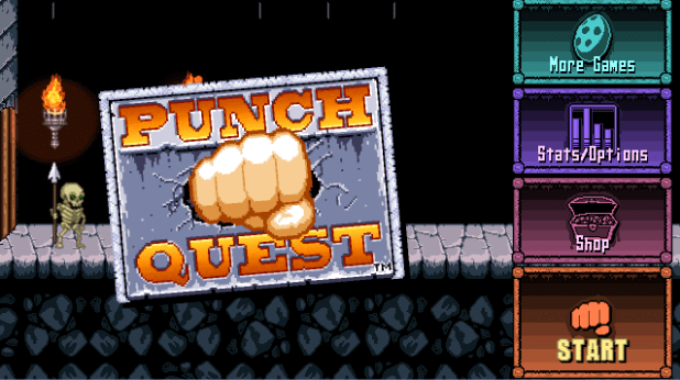 punch quest game