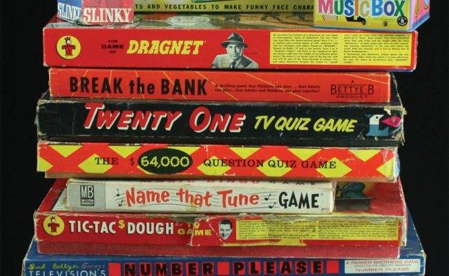 21 1950s And 1960s Toys And Tv Board Games