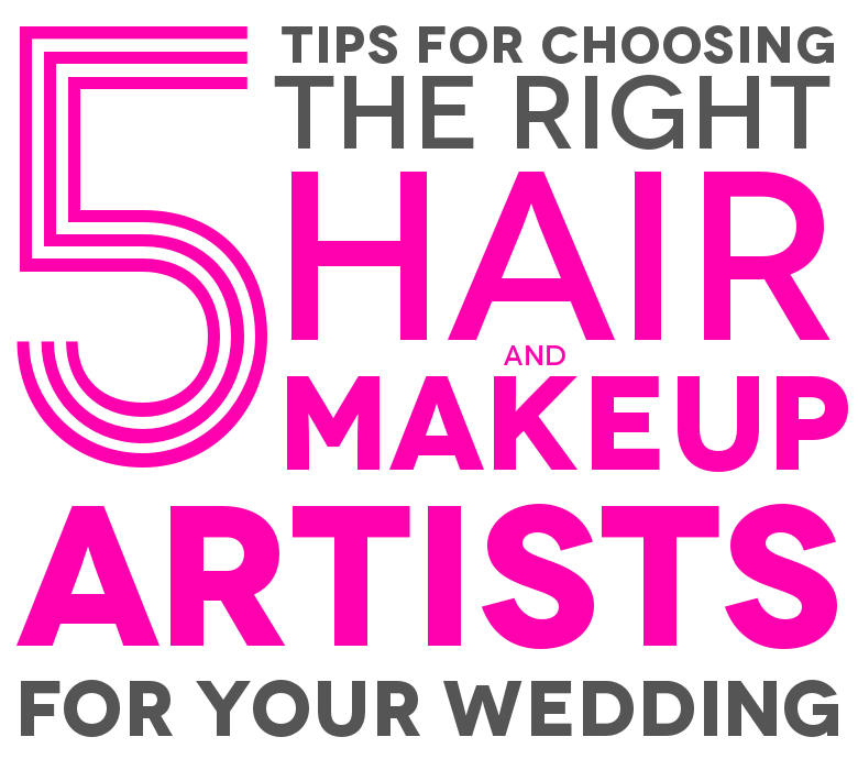 APW Basics How To Find Makeup And Hair Stylists For Your Wedding