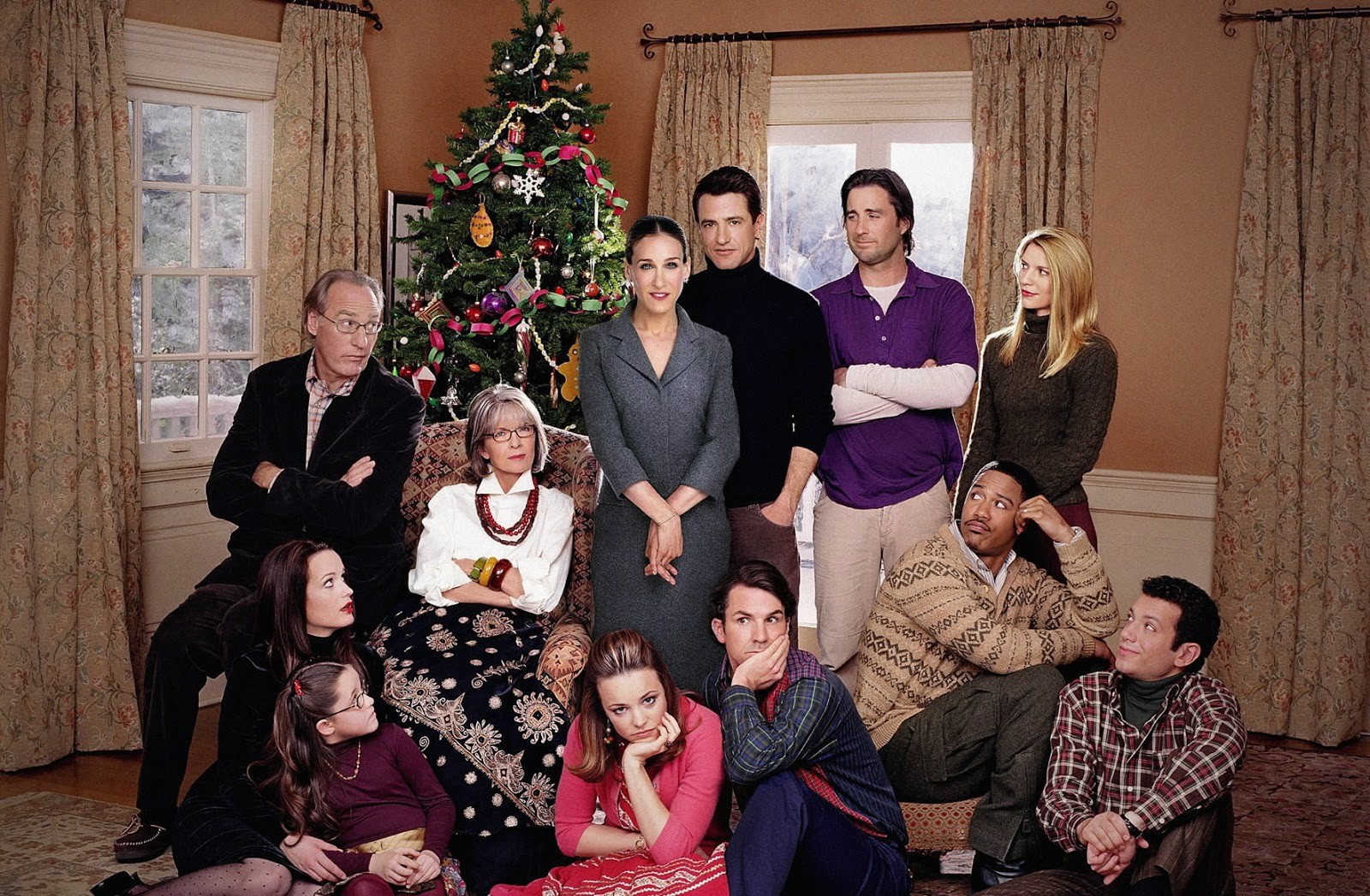 Chic Family Stone Heartwarming Dysctional Family Holiday Movies A Family S Pets Family S Ideas photos Christmas Family Pictures