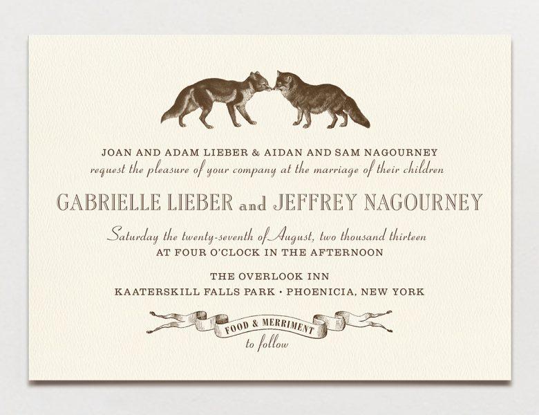 Wedding Invitation Wording Formal, Modern  Fun A Practical Wedding