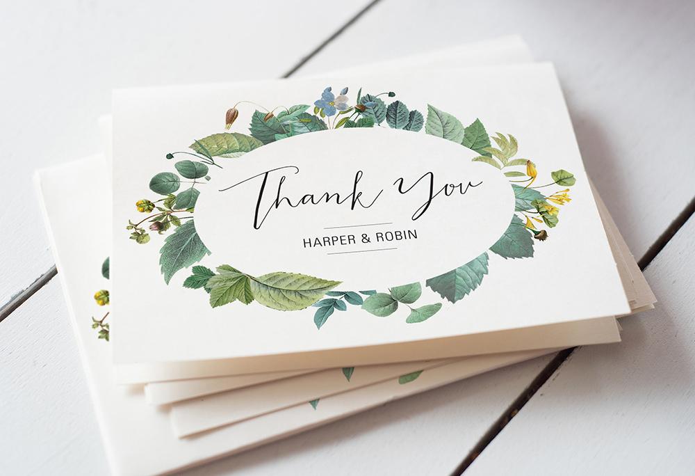 Easy Wedding Thank You Card Wording Templates A Practical Wedding