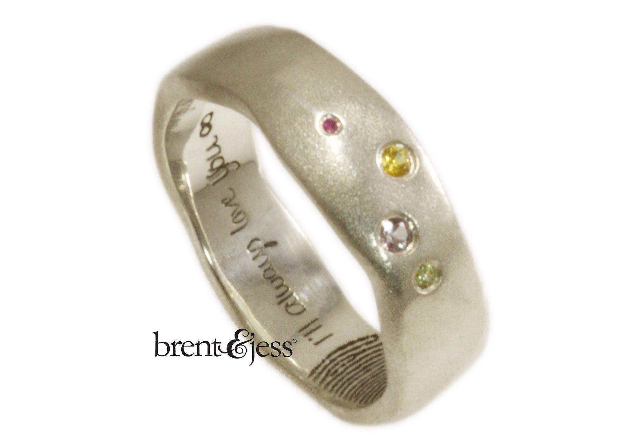 brent jess fingerprint wedding rings keepsake wedding rings 5 Tips That Will Help You Pick the Best Wedding Band