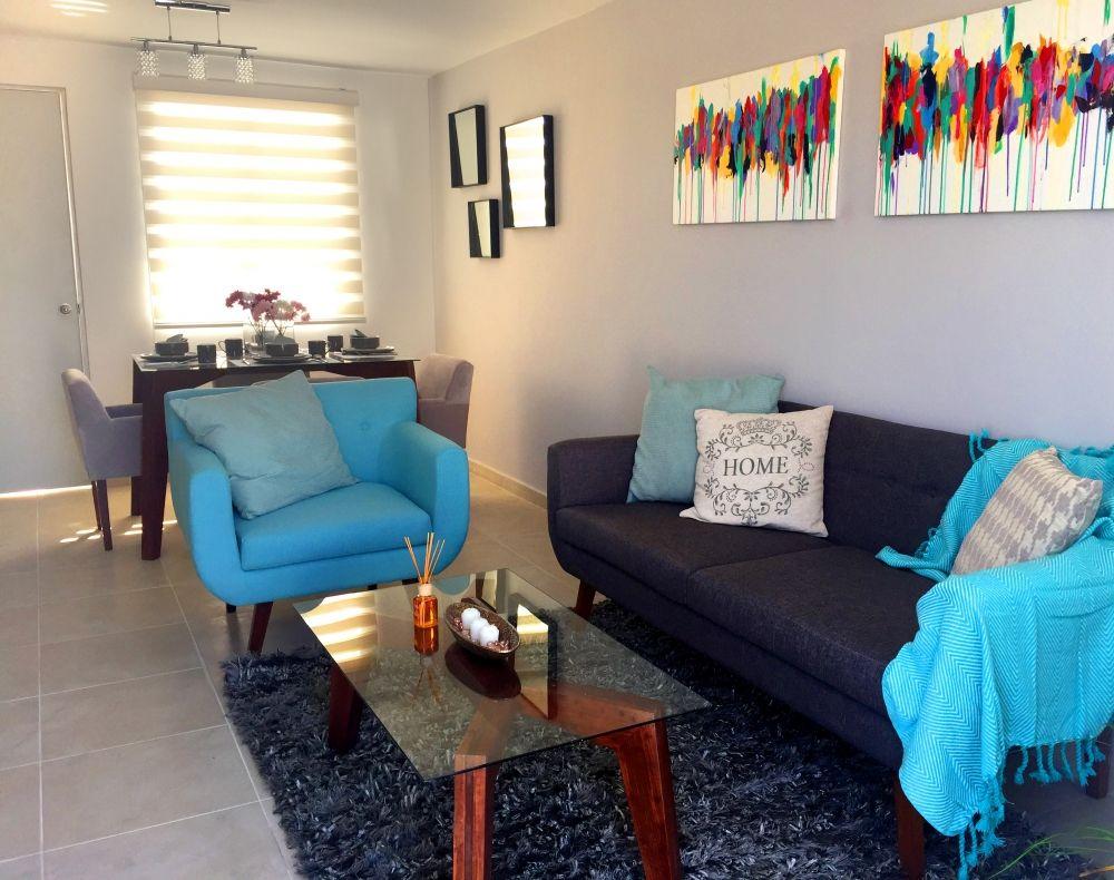 Dise o de interiores de casas de infonavit ideas para for Casa moderna 6 00 m x 9 00 m 2 pisos interior