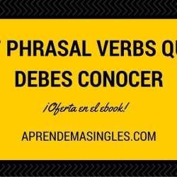 los phrasal verbs son fáciles con el método correcto