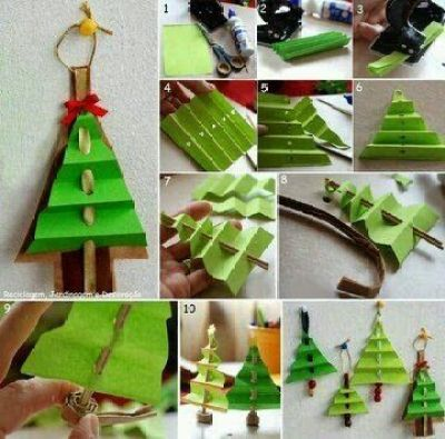 Manualidades adornos navide os para ni os aprendiendo - Decoracion navidad infantil manualidades ...