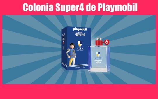 colonia super4 de playmobil Koto Parfum en el Corte Inglés