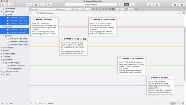 Using the Scrivener Timeline - AprilDavila
