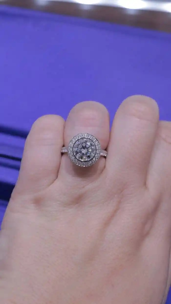 Tacori Engagement Ring Round Cut with Halo