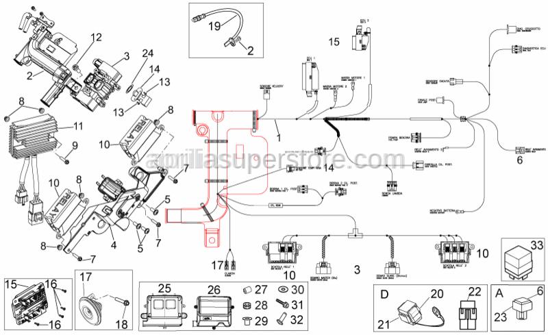 aprilia leonardo 125 wiring diagram