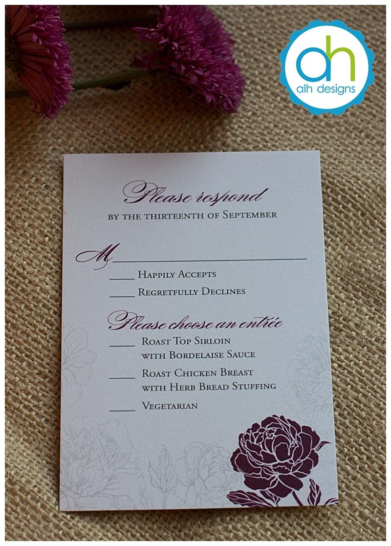 Steph Dave39s Wedding Invitation Suite April Lynn