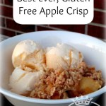 Gluten Free Baking ~Gluten Free Apple Crisp