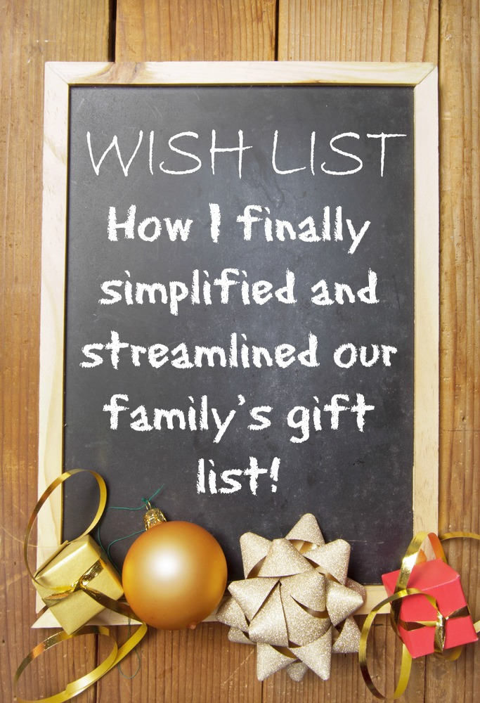 Easiest Online Christmas List - How to Keep it all Together