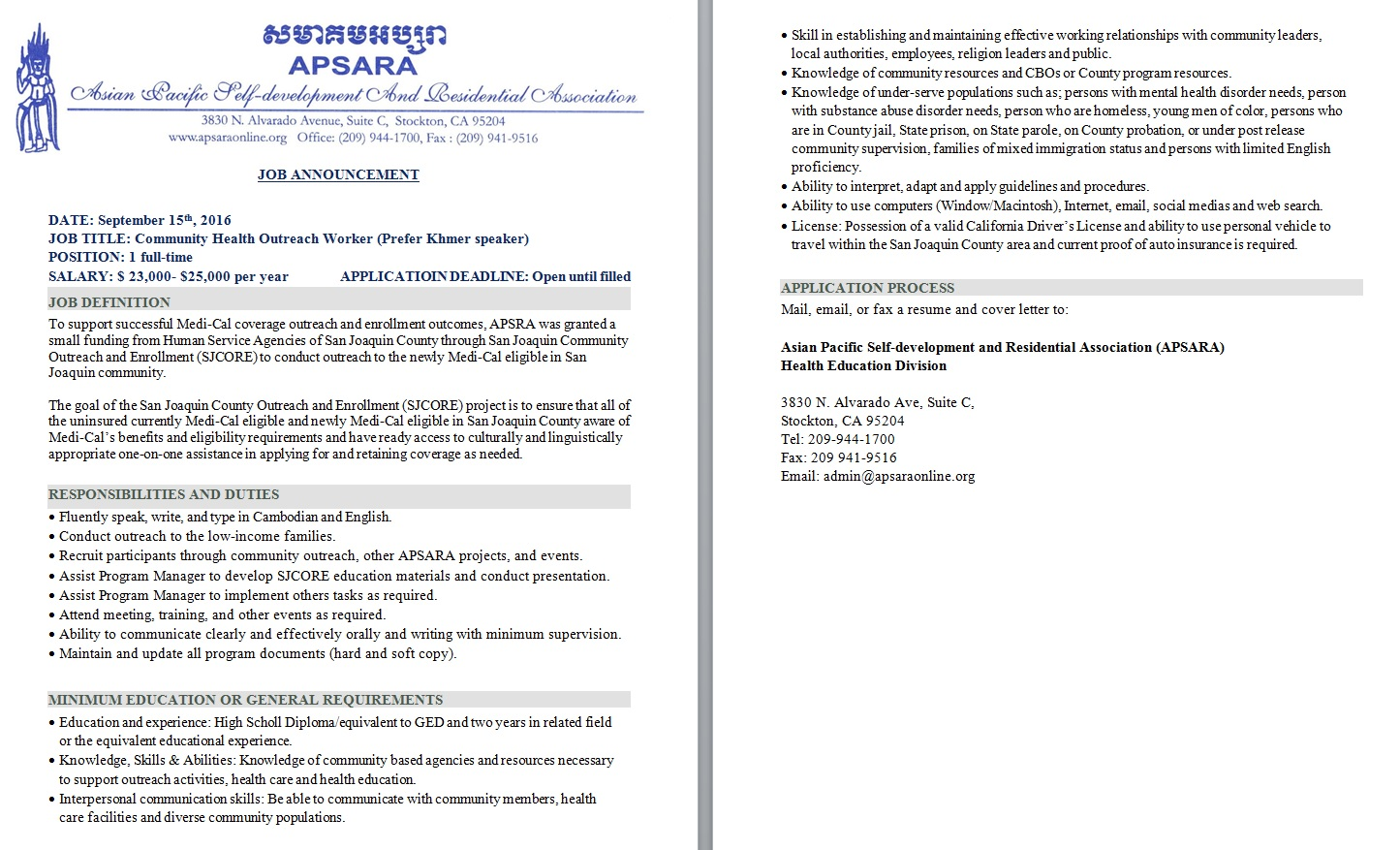 Sample Proposal Chatlos Cover Letter For Community Outreach Leading Professional