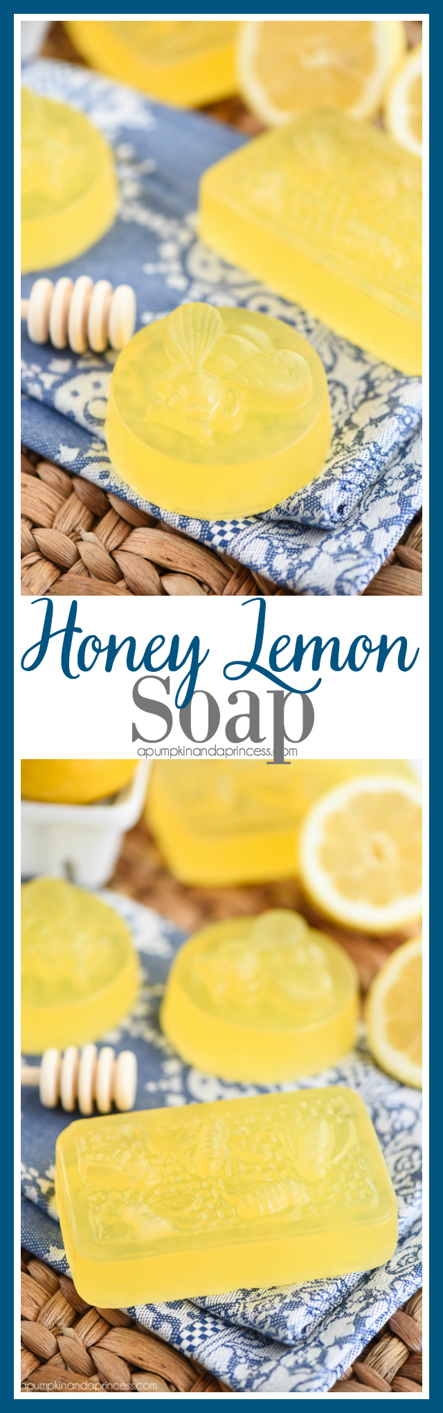 Diy Soap Essential Oils Honey Lemon Soap