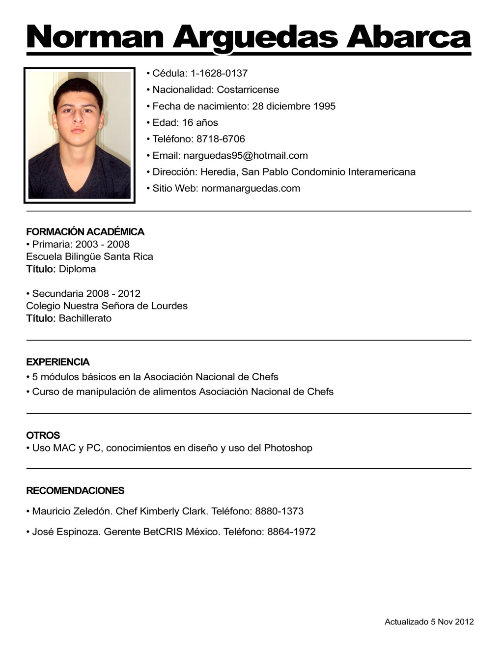 Ejemplo O Modelo De Curriculum Vitae  Modelo De. Cover Letter Sample For Resume Internship. Generic Cover Letter High School Student. Cover Letter Examples Monster. Letter Of Intent Sample Legal. Cover Letter Template Receptionist. Resume Format Simple. Resume Builder Software Free Download For Mac. Resume Format Word