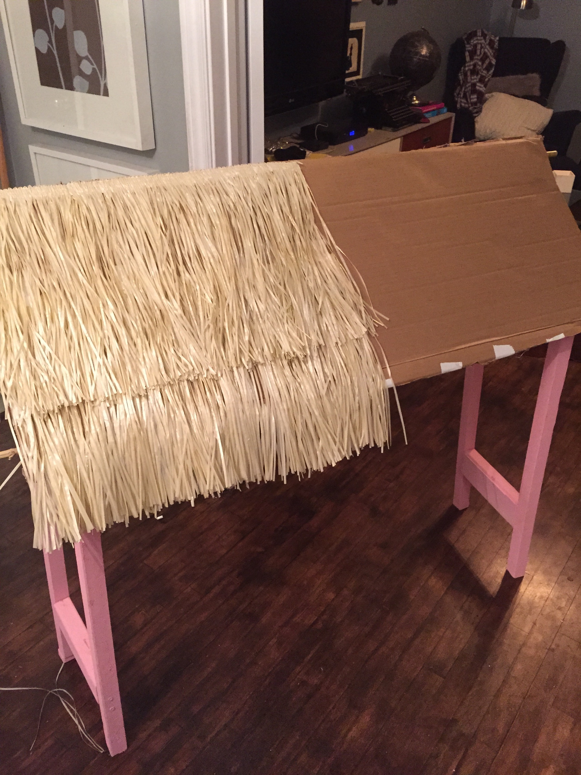 Decoration Anniversaire Hawaii Diy Tiki Bar A Purdy Little House