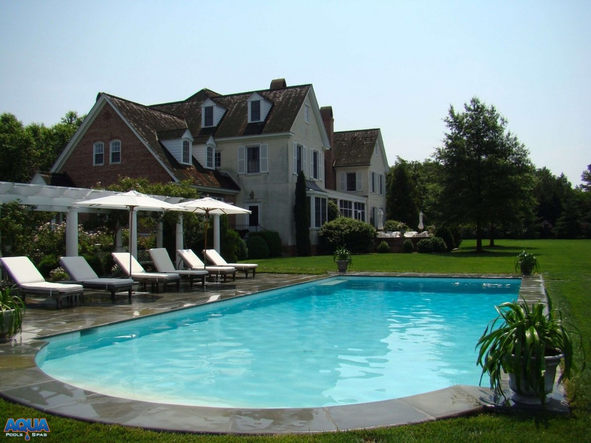 Spa Granville Custom Swimming Pool Photo Gallery Easton Maryland