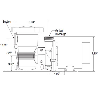 120 volt pool pump motor Schaltplang