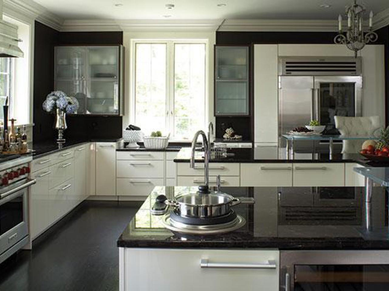 Black Granite Countertops A Daring Touch Of
