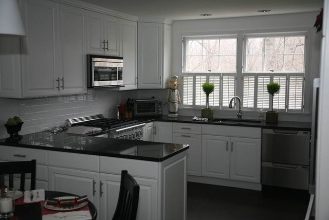 Black Granite Countertops Luxurious Look For Kitchens