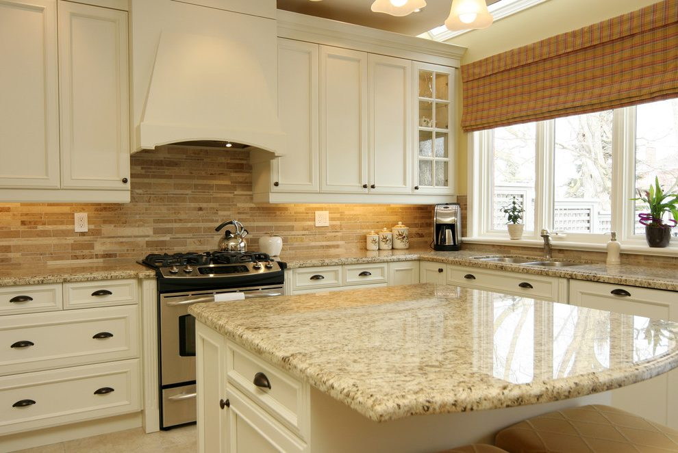 Giallo Ornamental Granite for Warm \ Elegant Kitchen Design - kitchen design center