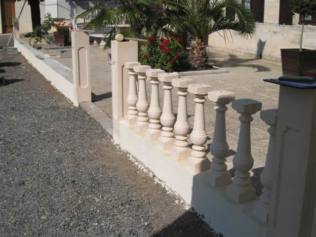 Balustrade Pour Terrasse Pose-balustre-05 - Aquagrément - Laurent Matras