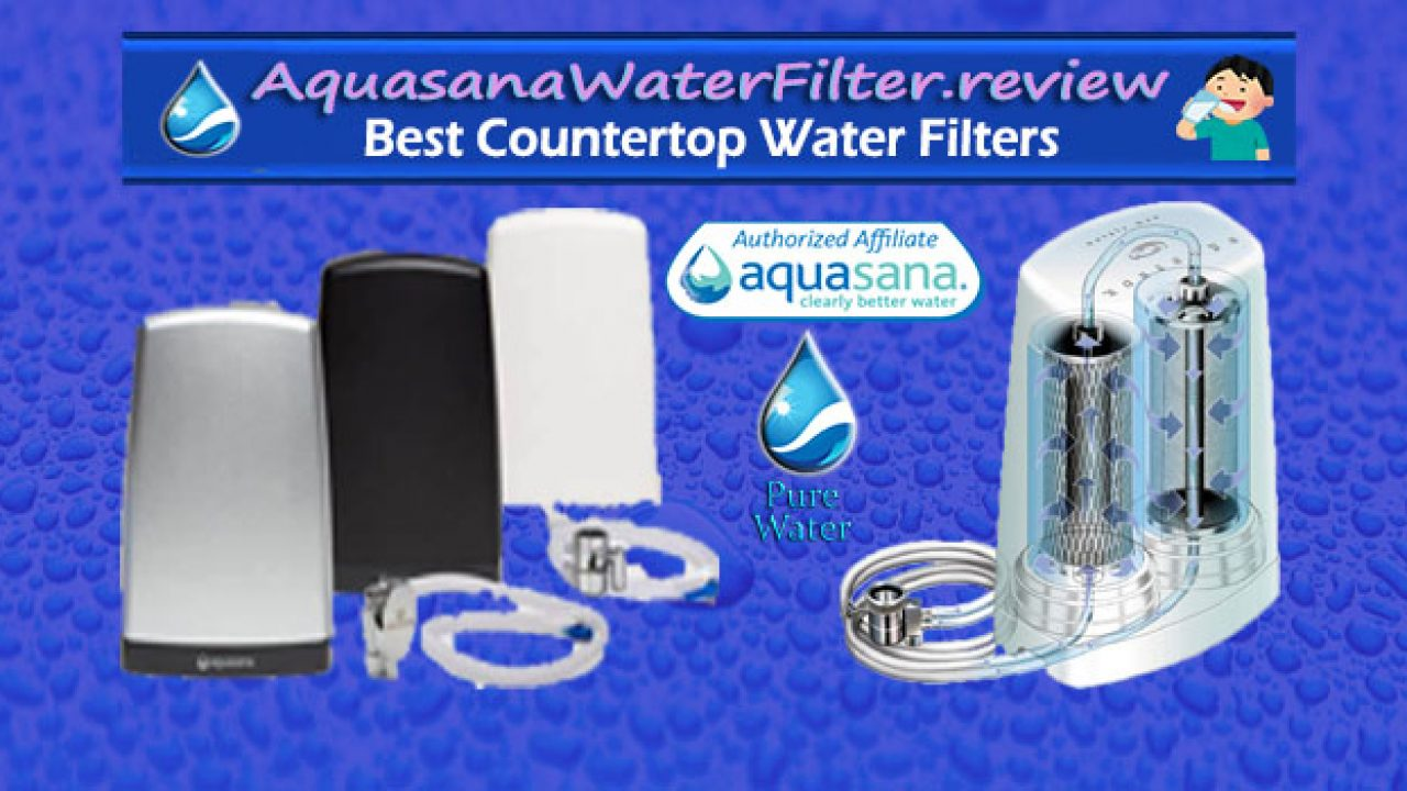 1 Aquasana Countertop Water Filter Best Inexpensive Filter