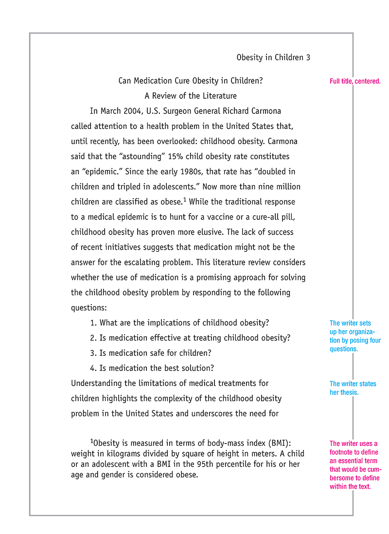 childhood obesity thesis statement essay This paper discusses the problems with overweight and obesity americans are grossly overweight this is causing not only american adults to be obese, but also the children three factors in obesity are food calories, exercise, and genetics genetics is only a problem if the.