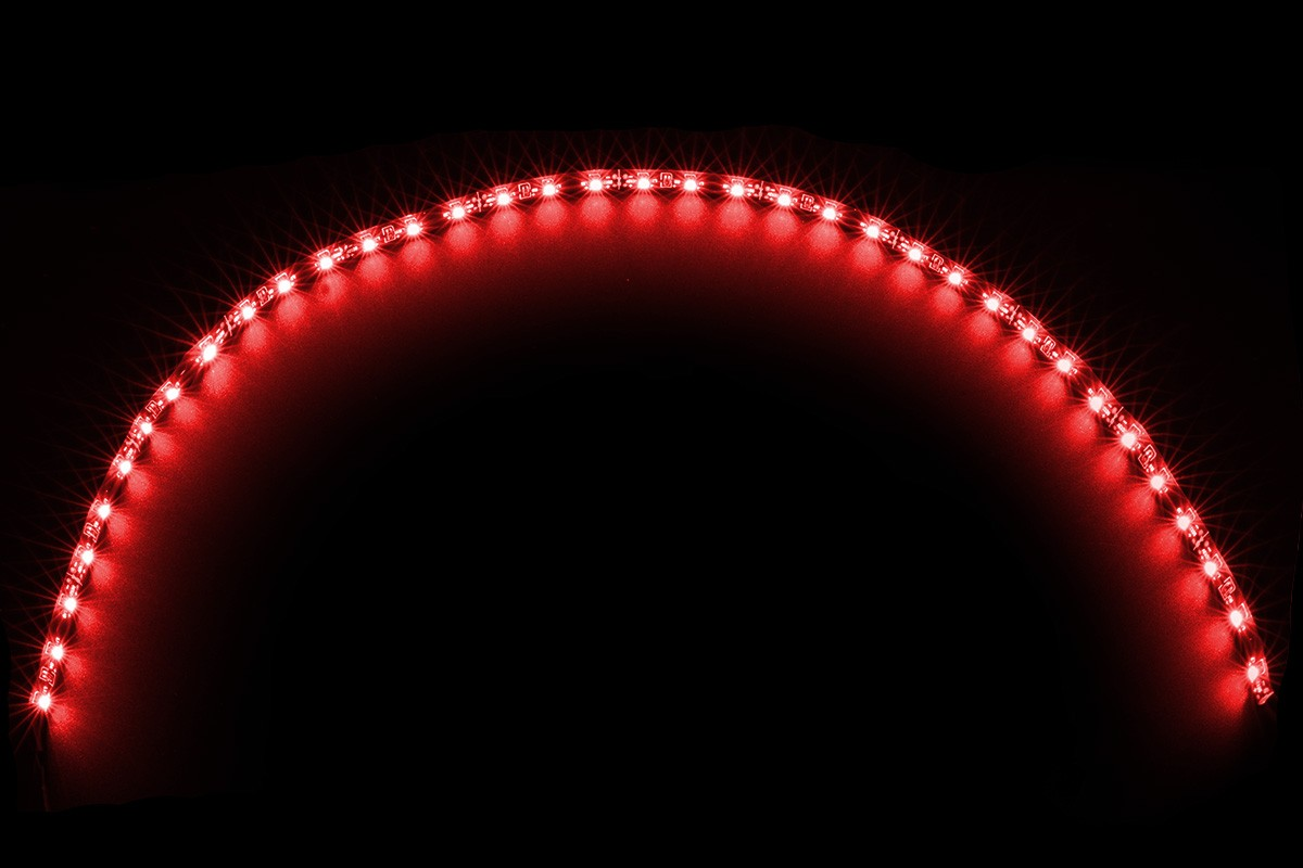 Led Leuchtbänder Led Flexlight Lowdensity 60cm Red 36x Smd Leds