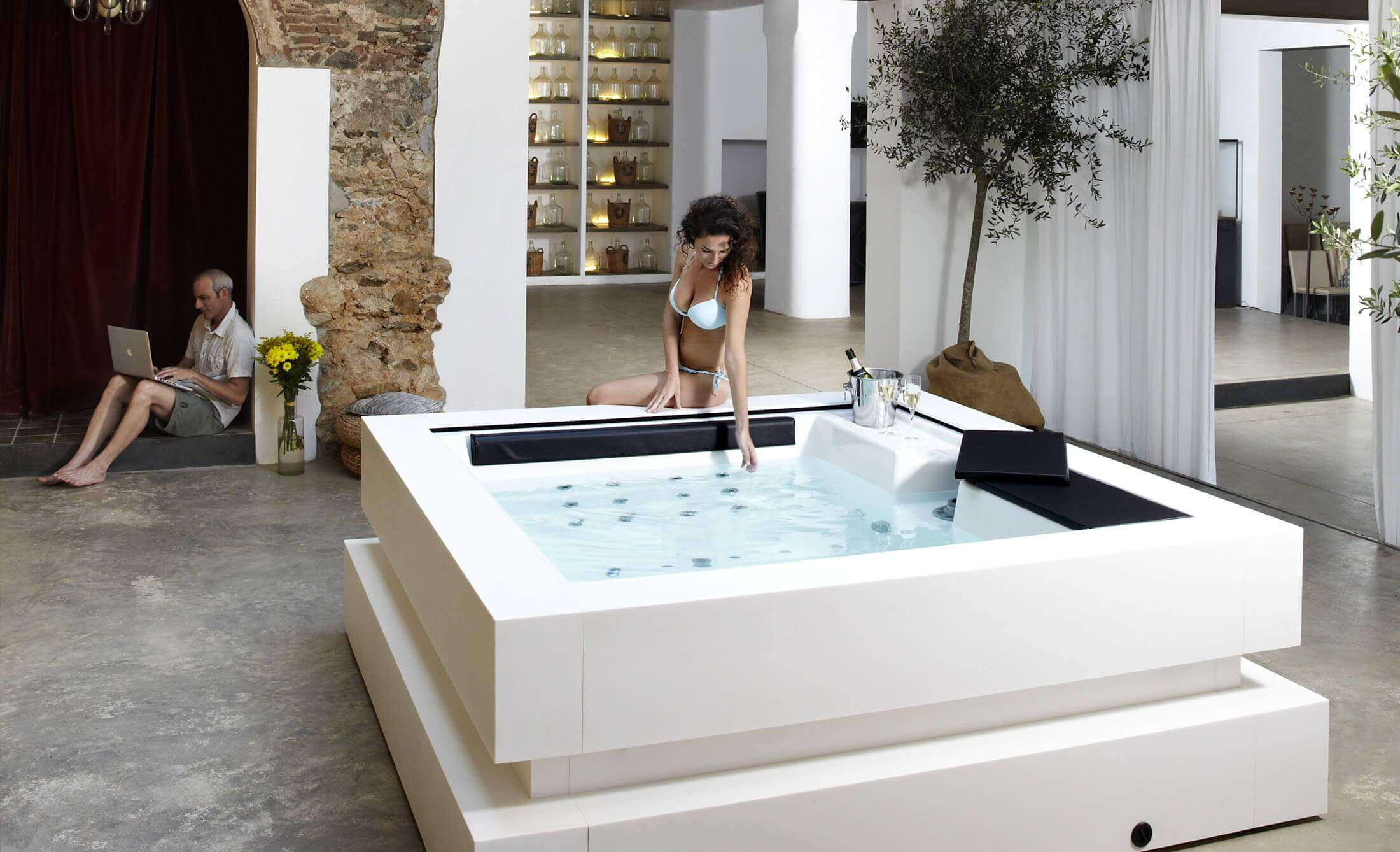 Spa Exterieur Ozone Buy Hot Tubs And Hydromassage Tubs Hot Tub Manufacturer