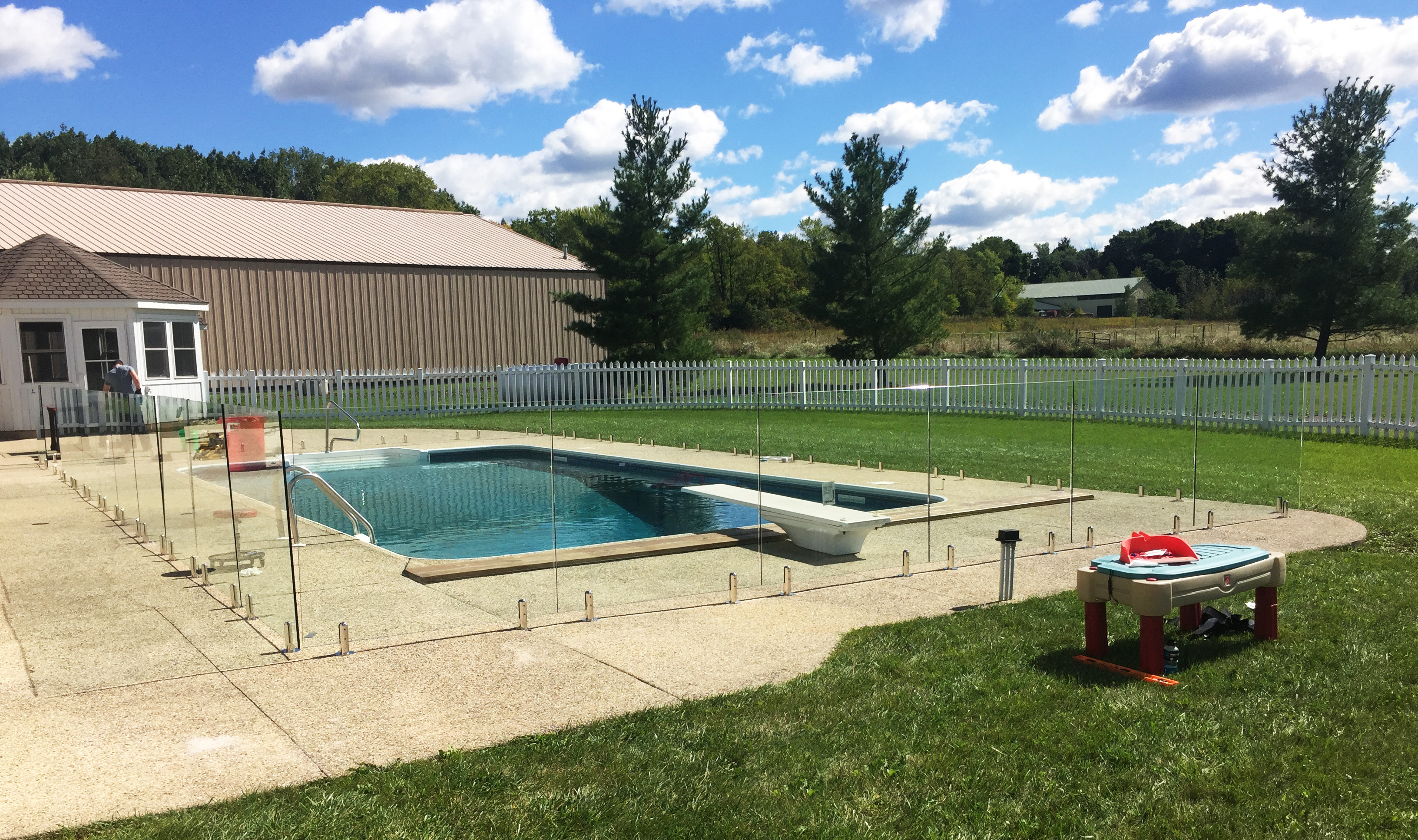 Glaspool Pool Fence Babyproof Your Backyard Aquaview Glass Pool Fences