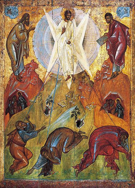 Jesucristo con halo y nimbo