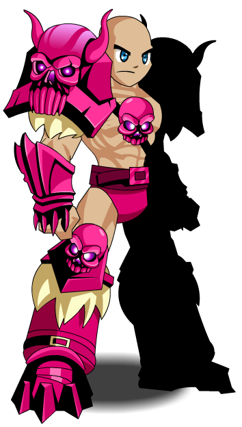 Birthday Editing Photo Pink Undead Warrior - Aqw
