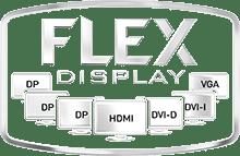 تقنية Flex Display لثبيت أكثر من شاشاة عرض