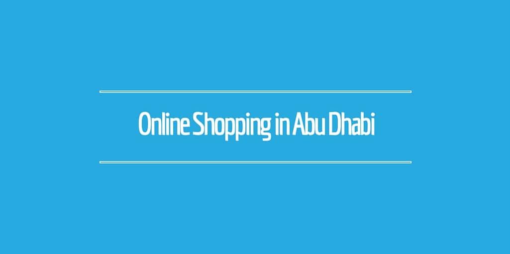 Online shopping, Abu Dhabi