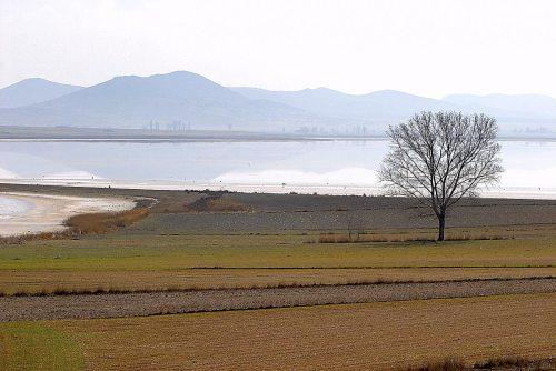Panorámica de la laguna desde la ermita del Buen Acuerdo.