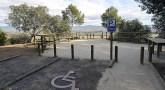 """El mirador accesible de San Quílez se suma a los """"Senderos para todos"""" de Huesca"""