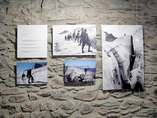 Las muestra exhibe imágenes históricas de diferentes archivos (B. Andrés-Prames).