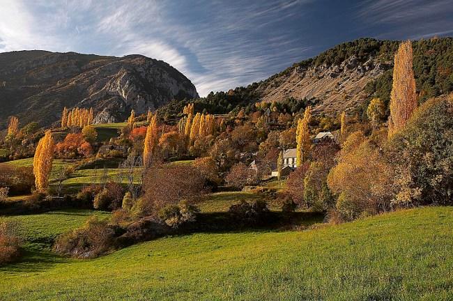 Montaña segura en otoño y con las primeras nieves