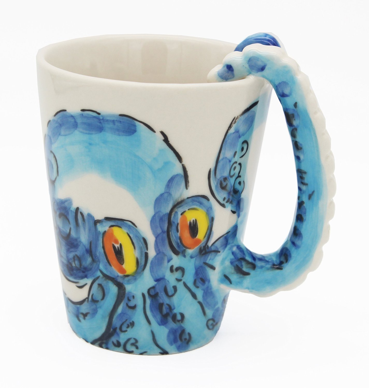 Ceramic Octopus How Cool Is My Hand Made Ceramic Octopus Mug A Rain Of