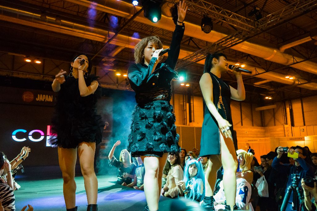 [LIVE REPORT] color-code becomes one with Madrid at Japan Weekend!