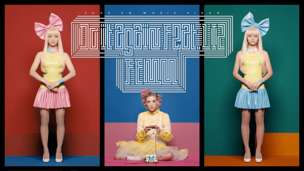 """FEMM and LIZ jump out of your screen in """"Do It Again"""" fake 3D MV"""