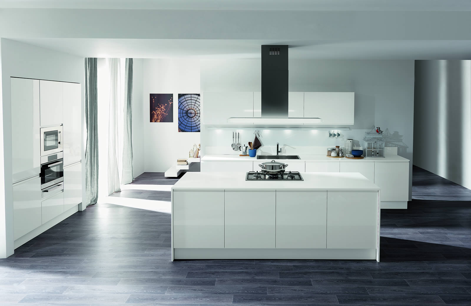 Cucine Moderne Laccate Lucide