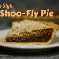 Amish-Style Shoo-Fly Pie