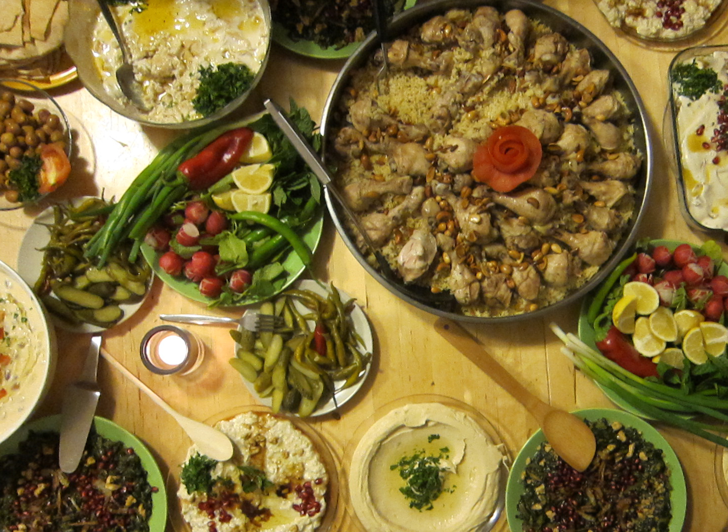Syrische Küche Rezepte | Datei Karisik Meze Tabagi Vorspeisen Jpg ...
