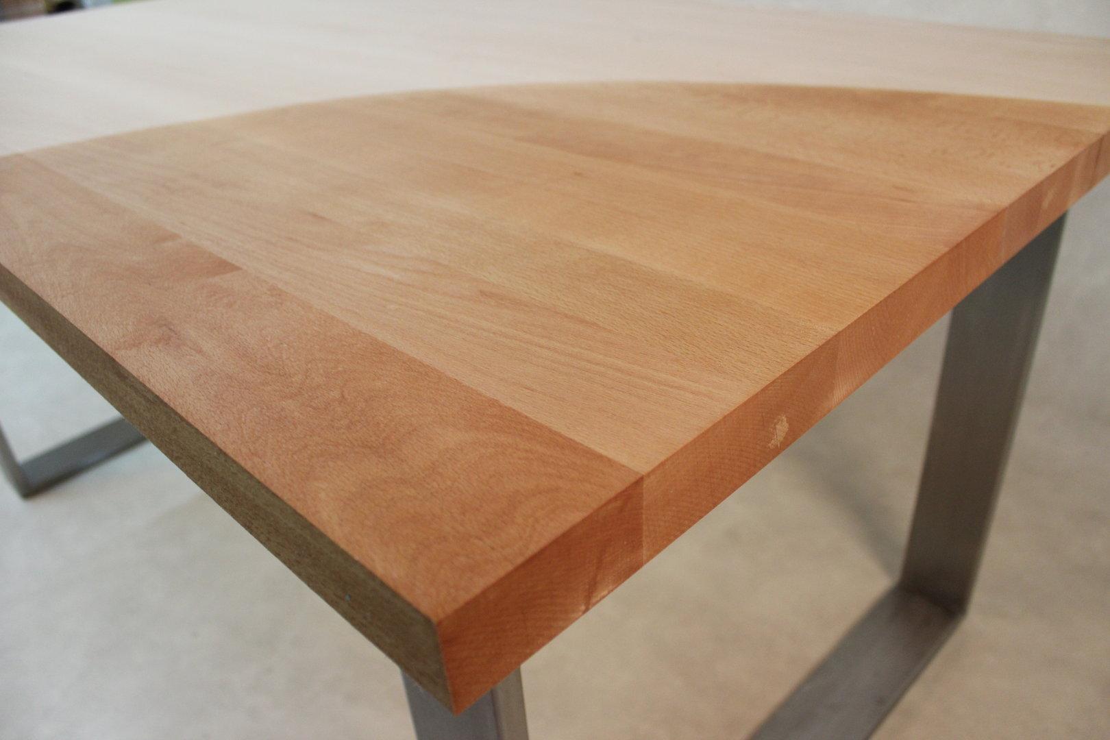 Tischplatte massivholz  Tischplatte Aus Massivholz